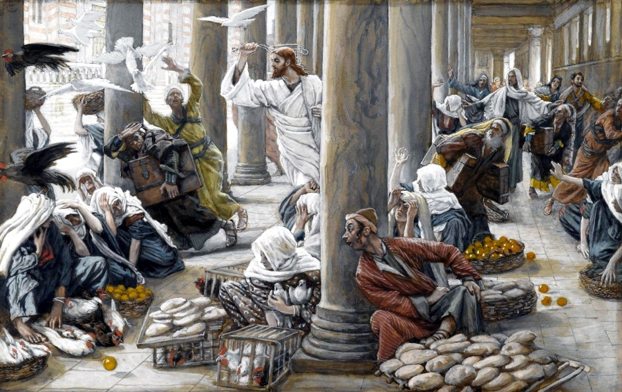 The-Merchants-Chased-from-the-Temple-Les-vendeurs-chasses-du-Temple-by-James-Tissot